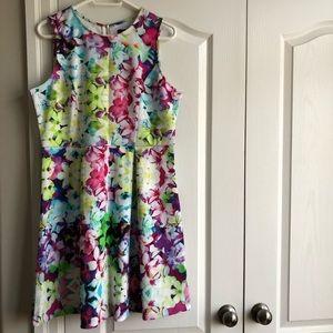 Floral Garden Party Summer Dress